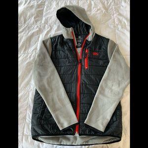 686 zip-up fleece hoodie